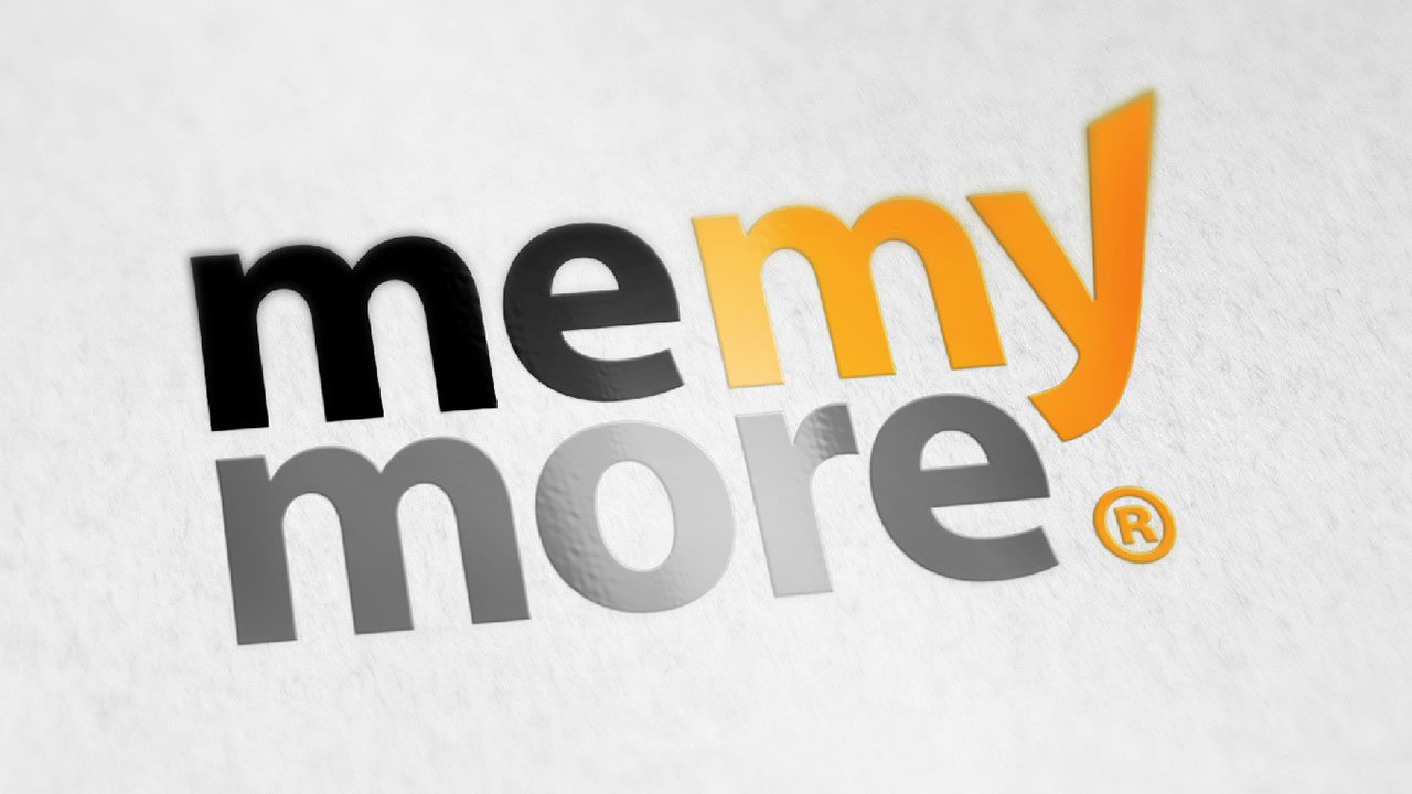 MeMyMore logo design by Fuel Studio, your business branding logo designers